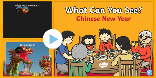 Chinese New Year What Can You See? PowerPoint