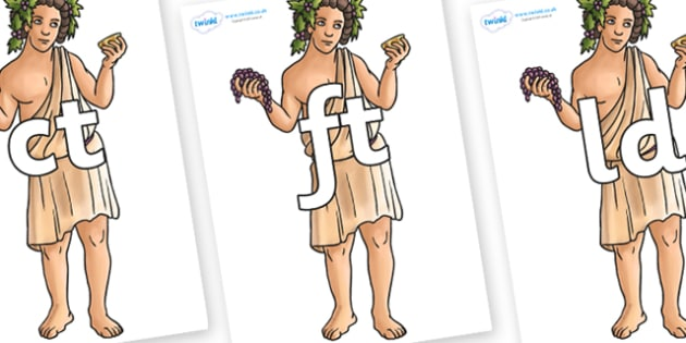 Final Letter Blends on Dionysus - Final Letters, final letter, letter blend, letter blends, consonant, consonants, digraph, trigraph, literacy, alphabet, letters, foundation stage literacy