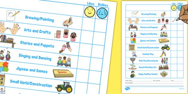 Children Evaluation Form - children, evaluation form, evaluate