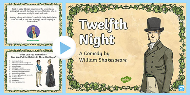 Shakespeare's Twelfth Night PowerPoint