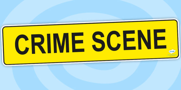 Crime Scene Role Play Banner - roleplay, roleplay display, banner