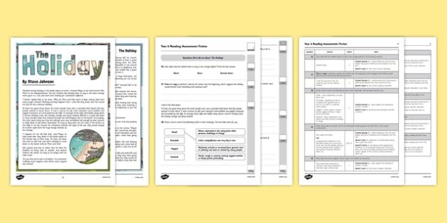 Year 6 Reading Assessment Fiction Term 3 - test, sats, summative, diagnostic, practice, sample