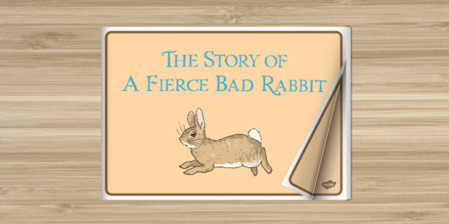 Beatrix Potter - The Story of a Fierce Bad Rabbit eBook - beatrix potter, fierce bad rabbit