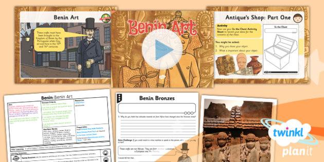 History: Benin: Benin Art UKS2 Lesson Pack 3