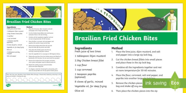 Brazilian Fried Chicken Bites Recipe-Australia - RIO Olympics, recipe, brazilian food, brazilian recipe, fried chicken bites, food, cooking, fun, cre