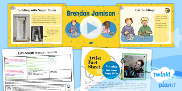 Art: Let's Sculpt: Brendan Jamison KS1 Lesson Pack 5