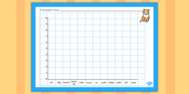 Class Pets Bar Graph Template - class pets bar graph template, class pets, pets, animal, pet, graph, template, how many, dog, cat, bar, bar graph, animal