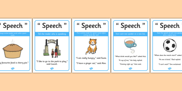 Writing Speech Display Posters - writing speech display posters, display, poster, disn, writing speech, writing, speech, speech marks, who is speaking