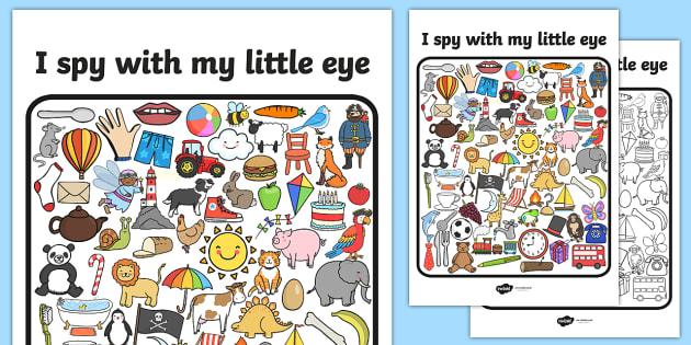 i spy game instructions