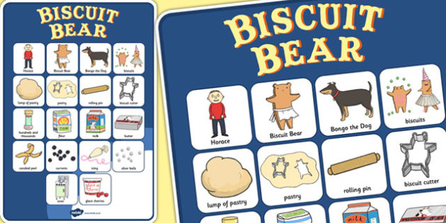 Vocabulary Poster to Support Teaching on Biscuit Bear - Biscuit, Bear, Vocabulary, Words