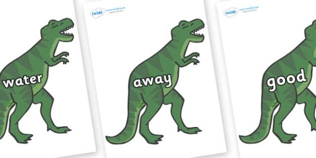 Next 200 Common Words on T-Rex - Next 200 Common Words on  - DfES Letters and Sounds, Letters and Sounds, Letters and sounds words, Common words, 200 common words