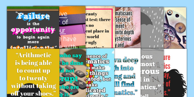 Maths Quote Wall Posters Polish Translation - maths quotes, famous maths quotes, quotes about maths, maths display posters, math quote posters, great quotes about maths, ks2, mathsdisplay, matsh
