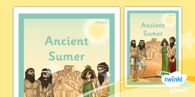 PlanIt - History UKS2 - Ancient Sumer Unit Book Cover - planit, history, book cover, ancient sumer
