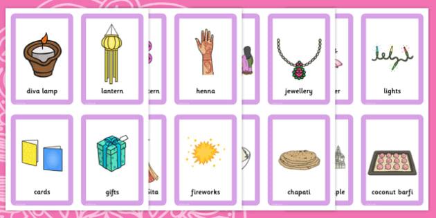 Diwali Matching Game - match, games, activities, activity, pairs