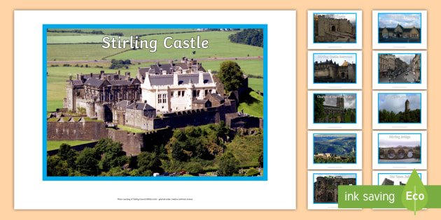 Stirling Landmark Display Photos - Scottish Cities, Stirling Castle, Wallace Monument, Stirling Bridge, Stirling Jail, Scotland, Scotla