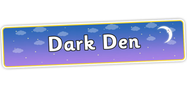 Dark Den Display Banner - dark den, display banner, dark den display banner, night time, night time display banner, night display banner