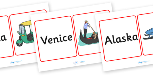 Transport Around The World Matching Cards - matching, matching game, transport, car, bus, train, transport game, transport matching cards, around the world, transport around the world, game, activity, snap