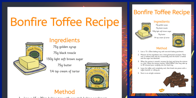 How To Make Bonfire Toffee Recipe - how, make, bonfire toffee, recipe, cook, food
