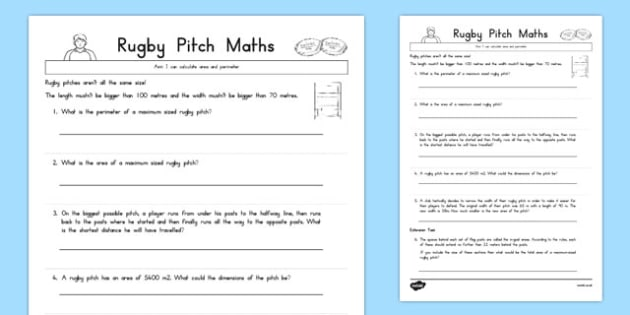 Rugby Pitch Maths - australia, rugby pitch, maths, rugby, pitch