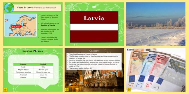 Latvia Information PowerPoint - latvia, information, powerpoint