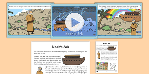 Noahs Ark Story PowerPoint - powerpoints, christianity, religion