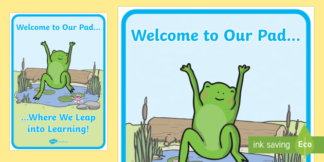 Leap into Learning Display Poster - New Zealand Back to School, back to school, beginning of school, classroom set up, frog theme, inspi