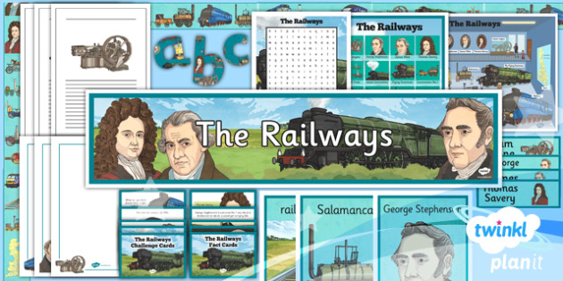 History: The Railways LKS2 Unit Additional Resources