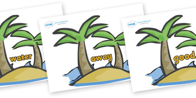 Next 200 Common Words on Palm Trees - Next 200 Common Words on  - DfES Letters and Sounds, Letters and Sounds, Letters and sounds words, Common words, 200 common words