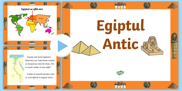 Egiptul Antic - Prezentare PowerPoint
