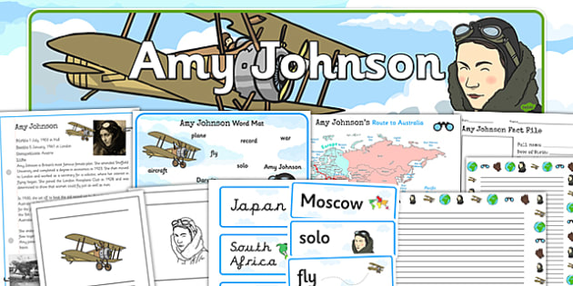 Amy Johnson Significant Individual Learning Pack - amy johnson
