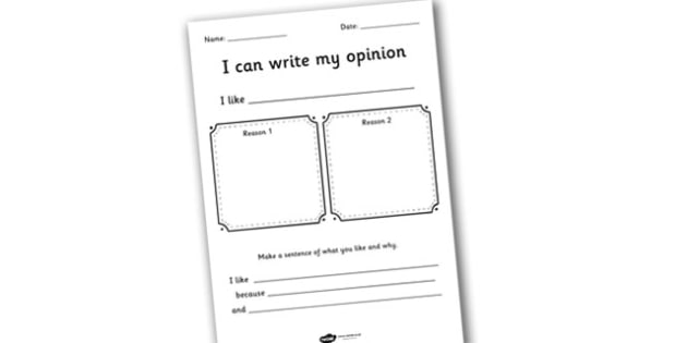 Opinion Worksheet - opinion, ourselves, ourselves worksheet