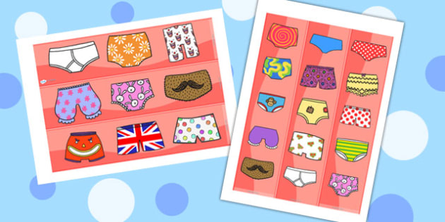 Story Display Borders to Support Teaching on Pants - pant story, display borders, borders, display, borders for display,  classroom display borders, display board borders