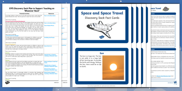 EYFS Discovery Sack Plan and Resource Pack to Support Teaching on Whatever Next!
