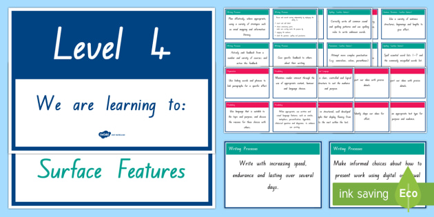 New Zealand Writing Level 4 We Are Learning Display Pack