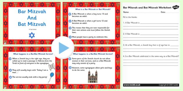 Judaism Bar Mitzvah and Bat Mitzvah Information PowerPoint - judaism, bar mitzvah, bat mitzvah, powerpoint, judaism powerpoint, bar mitzvah powerpoint, judiasm
