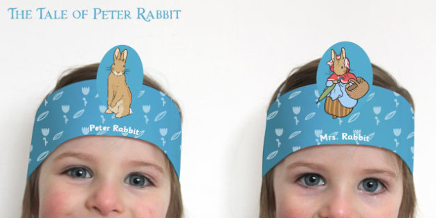 The Tale of Peter Rabbit Role-Play Headbands - peter rabbit