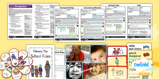 PlanIt - EAL Intervention - Basic Skills: Survival Vocabulary Pack