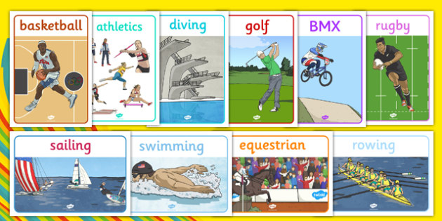 Rio 2016 Olympics Sports Posters - Olympics, Olympic Games, sports, Olympic, London, 2012, display, banner, poster, sign, Olympic torch, flag, countries, medal, Olympic Rings, mascots, flame, compete, tennis, athlete, swimming, race,