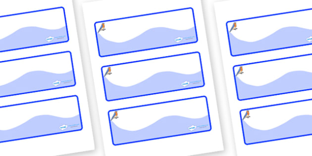 Bluebird Themed Editable Drawer-Peg-Name Labels (Colourful) - Themed Classroom Label Templates, Resource Labels, Name Labels, Editable Labels, Drawer Labels, Coat Peg Labels, Peg Label, KS1 Labels, Foundation Labels, Foundation Stage Labels, Teaching