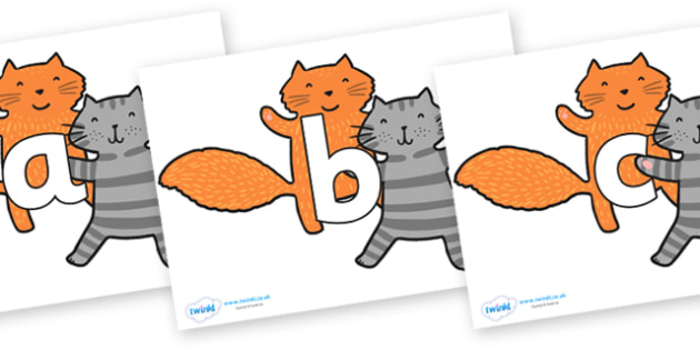 Phoneme Set on Cats to Support Teaching on What the Ladybird Heard - Phoneme set, phonemes, phoneme, Letters and Sounds, DfES, display, Phase 1, Phase 2, Phase 3, Phase 5, Foundation, Literacy