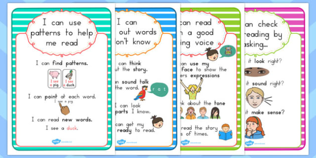 Guided Reading A4 Posters - australia, guided reading, a4, poster, display