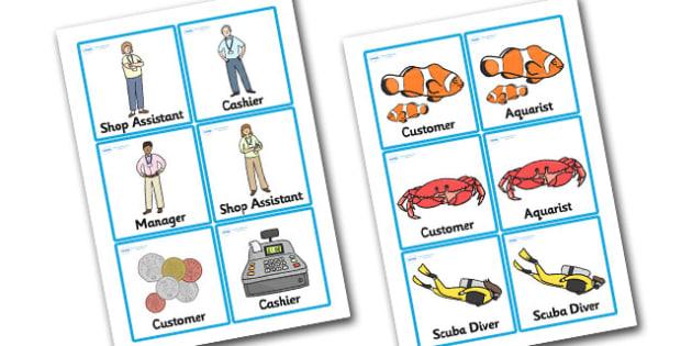 The Aquarium Role Play Badges - aquarium, role, play, role play, badges, role play badges, aquarium badges, badges for aquarium, badges for role play