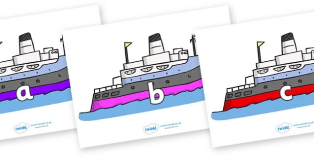 Phase 2 Phonemes on Boats - Phonemes, phoneme, Phase 2, Phase two, Foundation, Literacy, Letters and Sounds, DfES, display