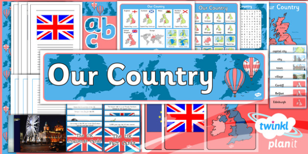 Geography: Our Country Year 1 Unit Additional Resources
