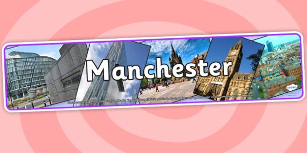 Manchester Photo Display Banner - manchester, manchester display banner, photo display banner, manchester city display, manchester photo display