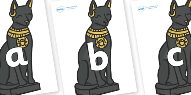 Phoneme Set on Egyptian Cats - Phoneme set, phonemes, phoneme, Letters and Sounds, DfES, display, Phase 1, Phase 2, Phase 3, Phase 5, Foundation, Literacy