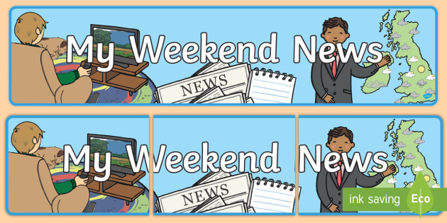 My Weekend News Display Banner - My Weekend, My Weekend News, Display Banner, My Weekend News Display Banner, Banner, Display, Weekend Banner