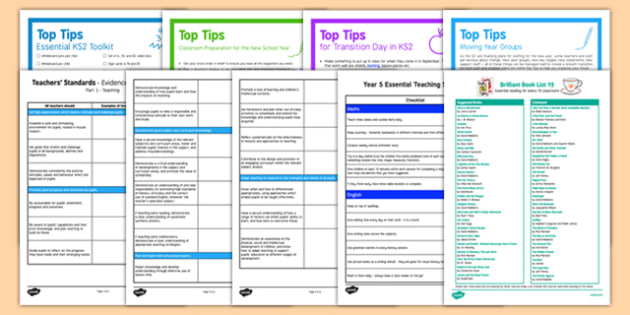 Teaching in Y5 Resource Pack - Year 4 to 5 Transition Guide