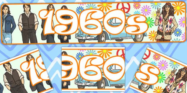 1960s Display Banner - display, banner, display banner, 1960s