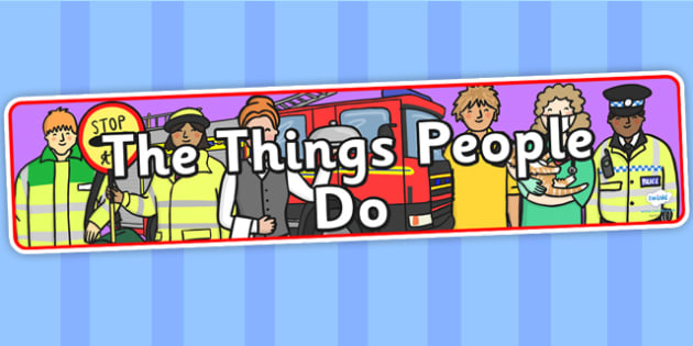 The Things People Do Display Banner - the things people do, IPC display banner, IPC, the things people do display banner, IPC display